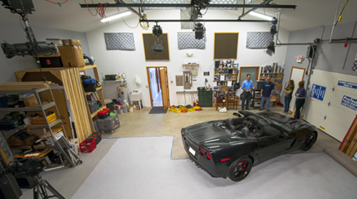 An automotive shoot at Monell Communications.