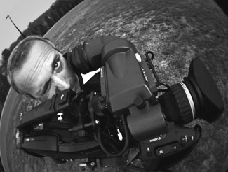 Wide angle camera guy